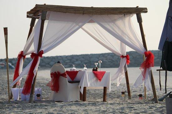 Ajman Hotel: Special setup for a romantic date