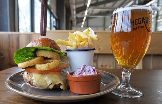 Yattendon, UK: Burger