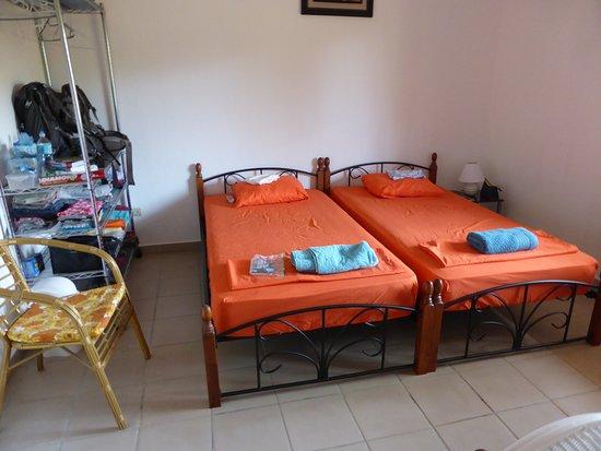 Las Lajas, Panamá: unser schönes Zimmer