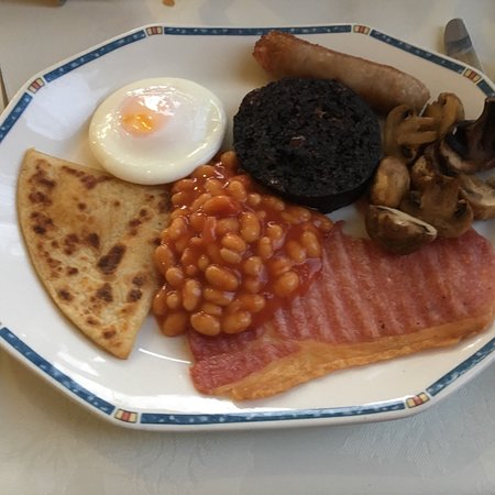 Atholl Villa: Full Scottish breakfast