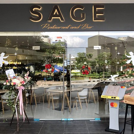 SAGE Restaurant and Bar: Delight your palette with our contemporary fusion cuisine!