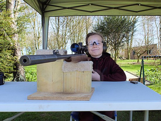 Skill at Arms: The smile says it all, great day out