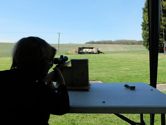 Skill at Arms: Well equip for the younger shooters, so they don't have to take the weight of the rifle