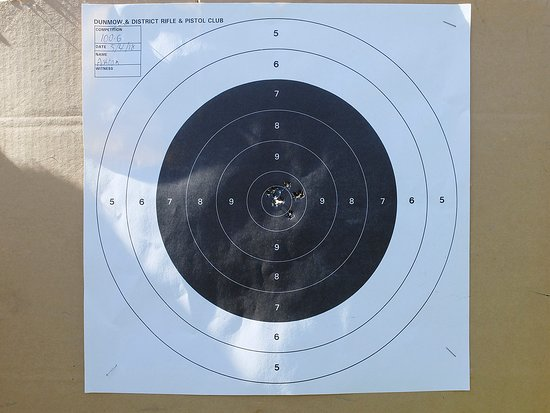Skill at Arms: Well done, superb grouping, Bolt action single shot, just like a sniper rifle