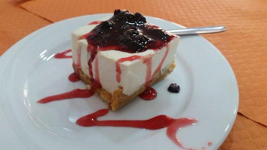 La Casona de Paqui: cheesecake