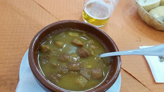La Casona de Paqui: seafood soup