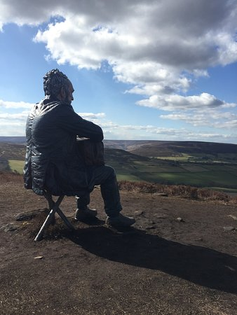 The Seated Man: view