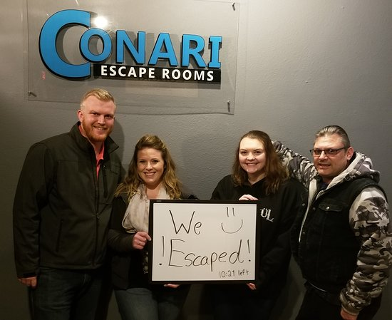 Conari Escape Rooms-Columbia