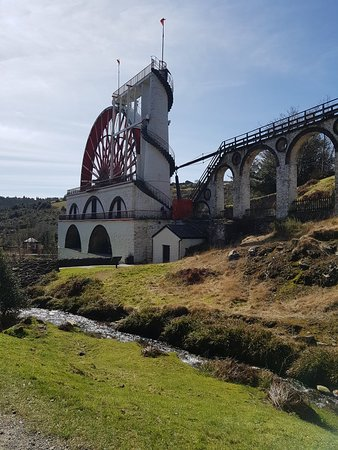 The Great Laxey Wheel and Mines Trail