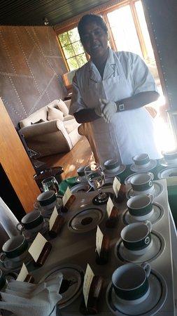 Heritance Tea Factory: tea tasting