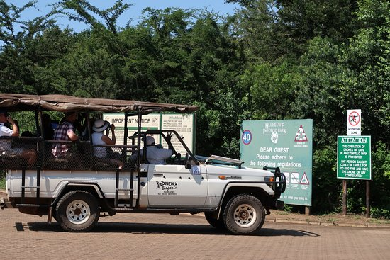 Zululand, Afrika Selatan: 4x4 Vehicles