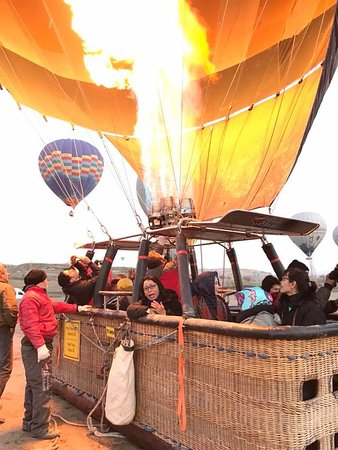 Hot Air Ballooning Cappadocia: Persiapan menjelang hot air ballon take off