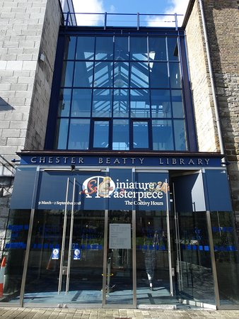 Chester Beatty Library: Ingresso