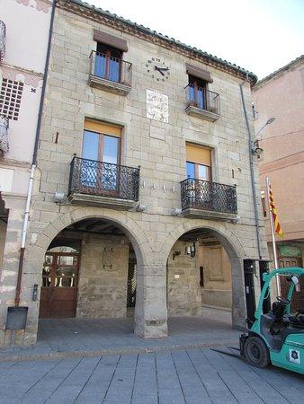 Plaza Mayor de Santa Coloma de Queralt.
