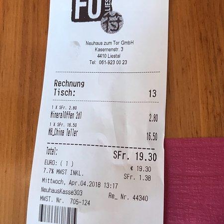 Liestal Restaurant Neuhaus: photo7.jpg