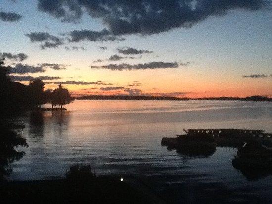Rideau Lakes Sunset Picture Of Big Rideau Lake Boat