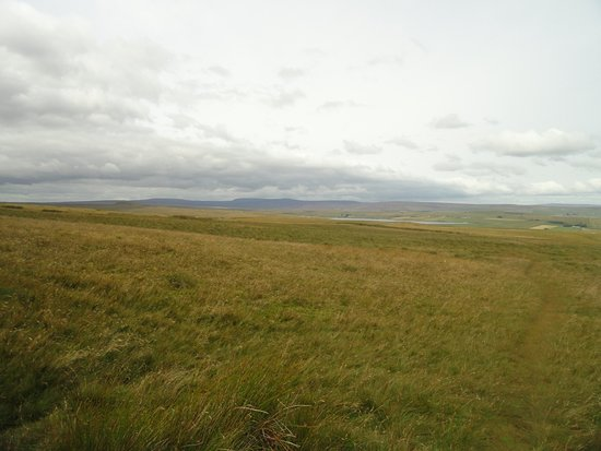 North Pennines Area of Outstanding Natural Beauty: A view over the moors