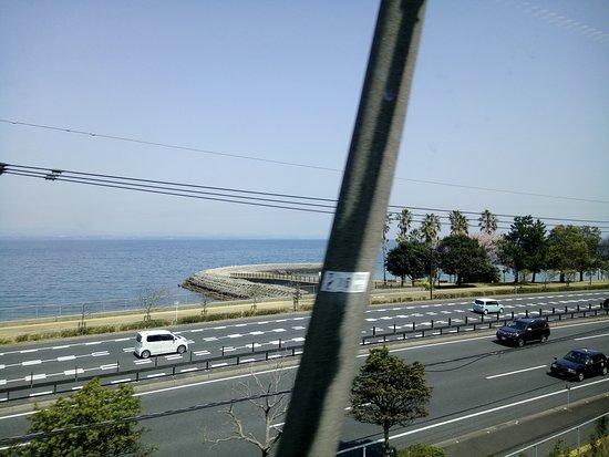 Kyushu-Okinawa, Japan: view from train