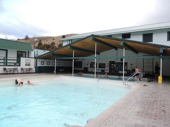 Pray, MT: Hot springs pools