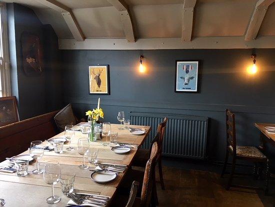 Ickham, UK: dining area