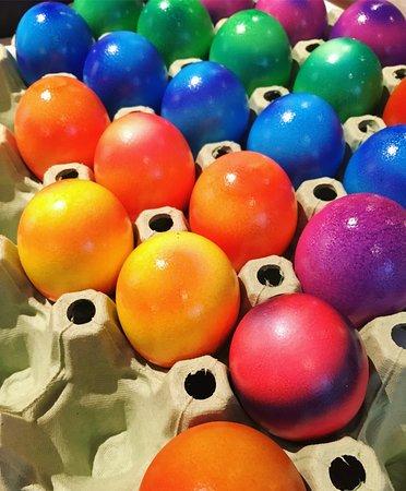 Hotel Seehof: Beautiful Easter eggs!