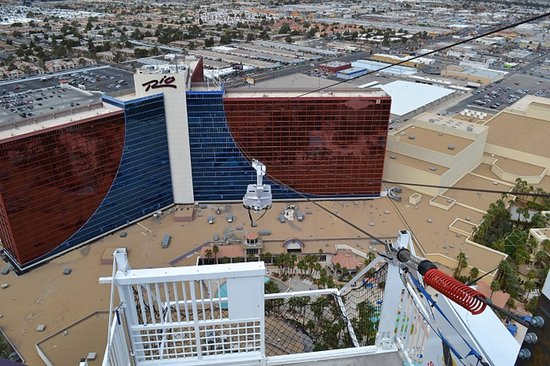 Zip Line Between Rio All Suite Hotel Towers Keeping Guest Up All Night Listening To Screaming Picture Of Rio All Suite Hotel Casino Las Vegas Tripadvisor