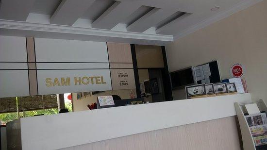 Sitiawan, Malaysia: Front Desk Lobby