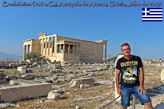 Erechtheion, Acrópole de Atenas, Grécia