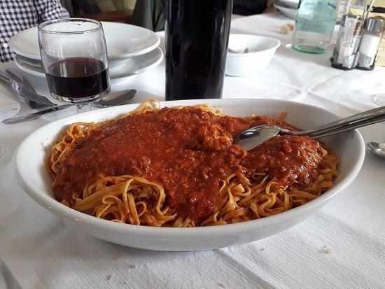 Roddino, Italy: Tagliolini fatti in casa