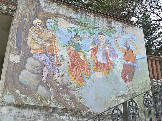Murales di Plataci - le vallje