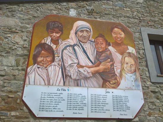 Murales di Plataci - Santa Teresa di Calcutta
