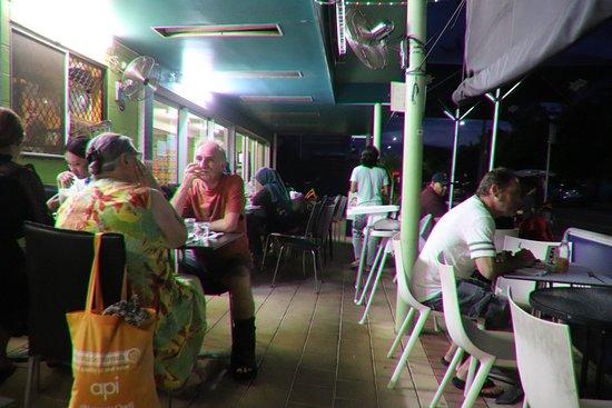 Bagus Cafe: Nice setting