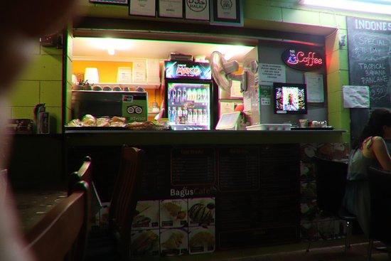 Bagus Cafe: Where we order