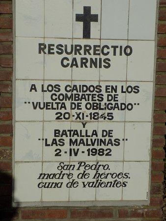 Monumento Batalla Vuelta de Obligado: Me impactó
