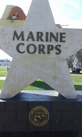 Veteran's Memorial Park: cada agrupación