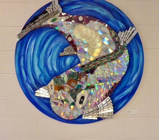 San Rafael, كاليفورنيا: Fish Art