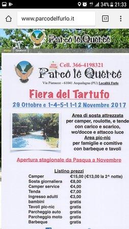 Furlo, Italia: Screenshot_20180406-213338_large.jpg