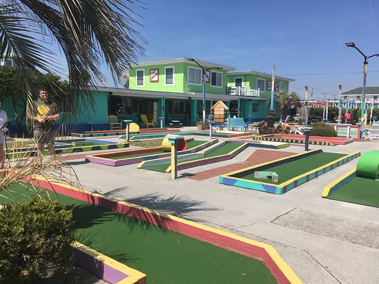 Patio Playground - the Putt-Putt