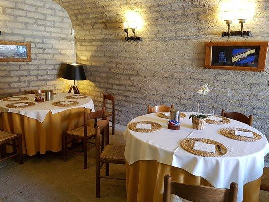 Ponzano Romano, Italien: grottino colazione