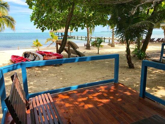Maya Beach Hotel: Jaguar Room Porch