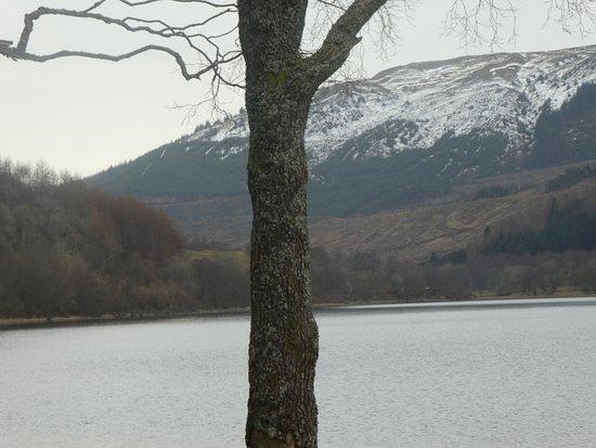 Loch Lubnaig: tranquil loch