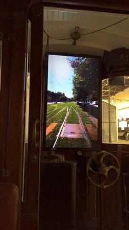 Museu do Carro Eléctrico: Aqui simula-se uma viagem de elétrico