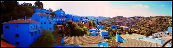 Juzcar, إسبانيا: Algo de este pueblo azul