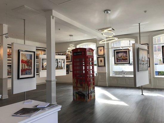 Host Galleries: Front room