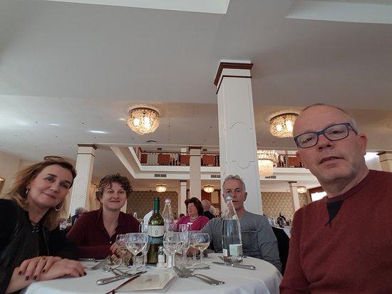 Hotel Ariston Molino Terme: Bellissima serata con amici.
