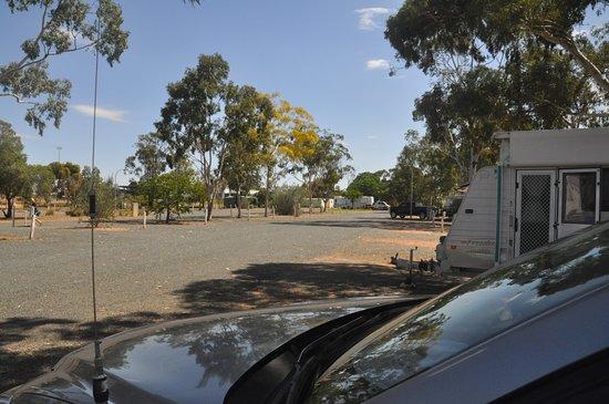 West Wyalong, Australia: Plenty of room.