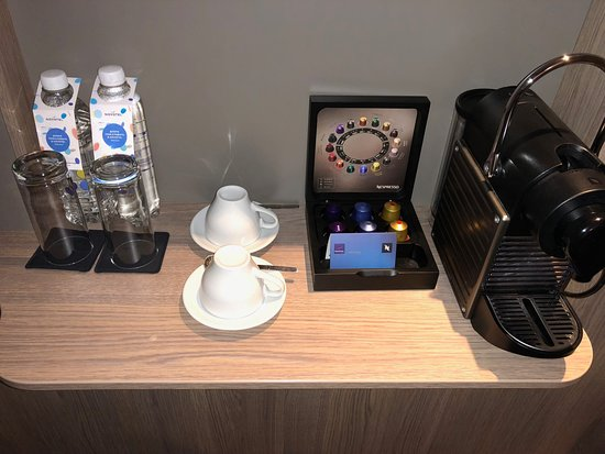 Novotel Moscow City: Nespresso Coffee Machine
