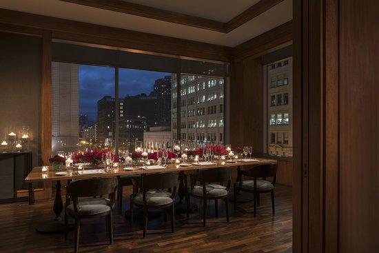 Four Seasons Hotel San Francisco: MKT Restaurantu0027s Windows Private Dining  Room