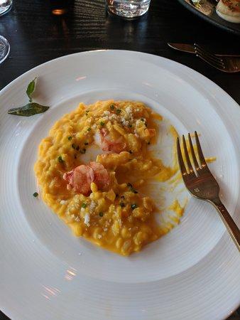 Lobster Risotto Picture Of Gordon Ramsay Hell S Kitchen Las Vegas Tripadvisor