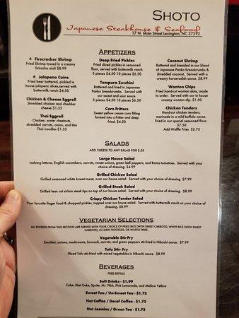 Japanese Restaurant In Lexington Nc